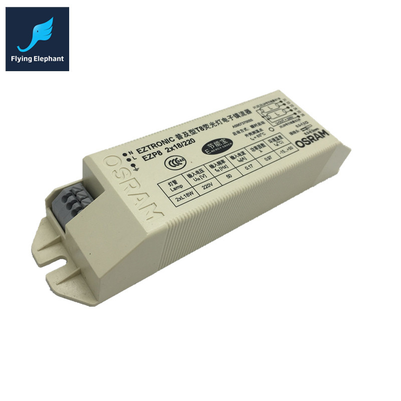 Fluorescent Light No Ballast: 198 264V AC 2X18w Wide Voltage T8 Electronic Ballast