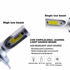 Image 5 - 2 Pcs H7 H3 Led H1 H9 H4 H13 Lamp 60W Koplampen Auto Lamp Met H11 Led Auto Licht 6000K Wit 12V Auto Led Lamp Bh
