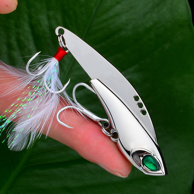 Awesome No1 Spoon Metal crazy fishing lures Silver/Gold