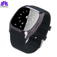 Smartwatch impermeable M26 Bluetooth Inteligente Reloj Todos Los Días a prueba de agua LED Pantalla 32 GB de memoria para Android