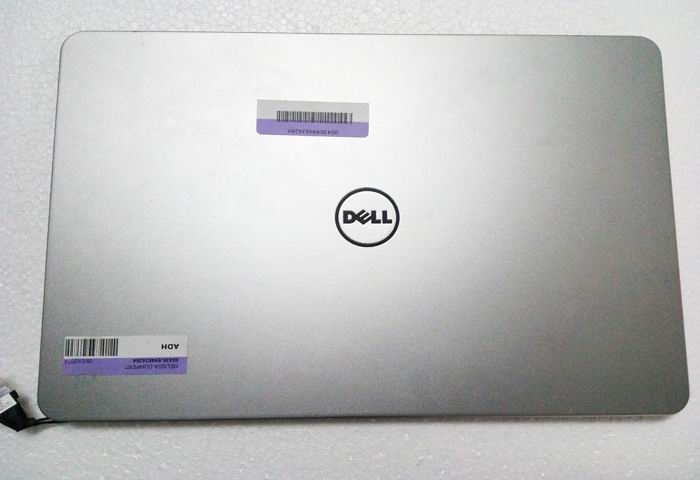 ФОТО 75% new For Dell Inspiron 15 7537 Sliver LCD BACK COVER LID 7K2ND 07K2ND 60.47L03.012 Free Shipping