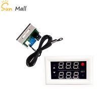 High Quality DC12V Temperature Controller /Digital Display Temperature Controller Switch/With Relay 210 degree Red-Green