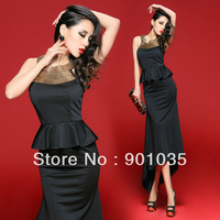 Free Shipping New 2013 Sexy Women Bodycon Stretch Party Pencil Winter Office Girl DRESS Clothing Set