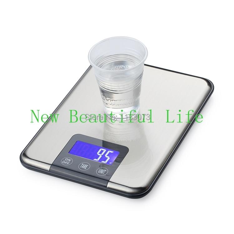15 kg 1g bilancia da cucina digitale 15 kg di peso alimentare - Strumenti di misura - Fotografia 5