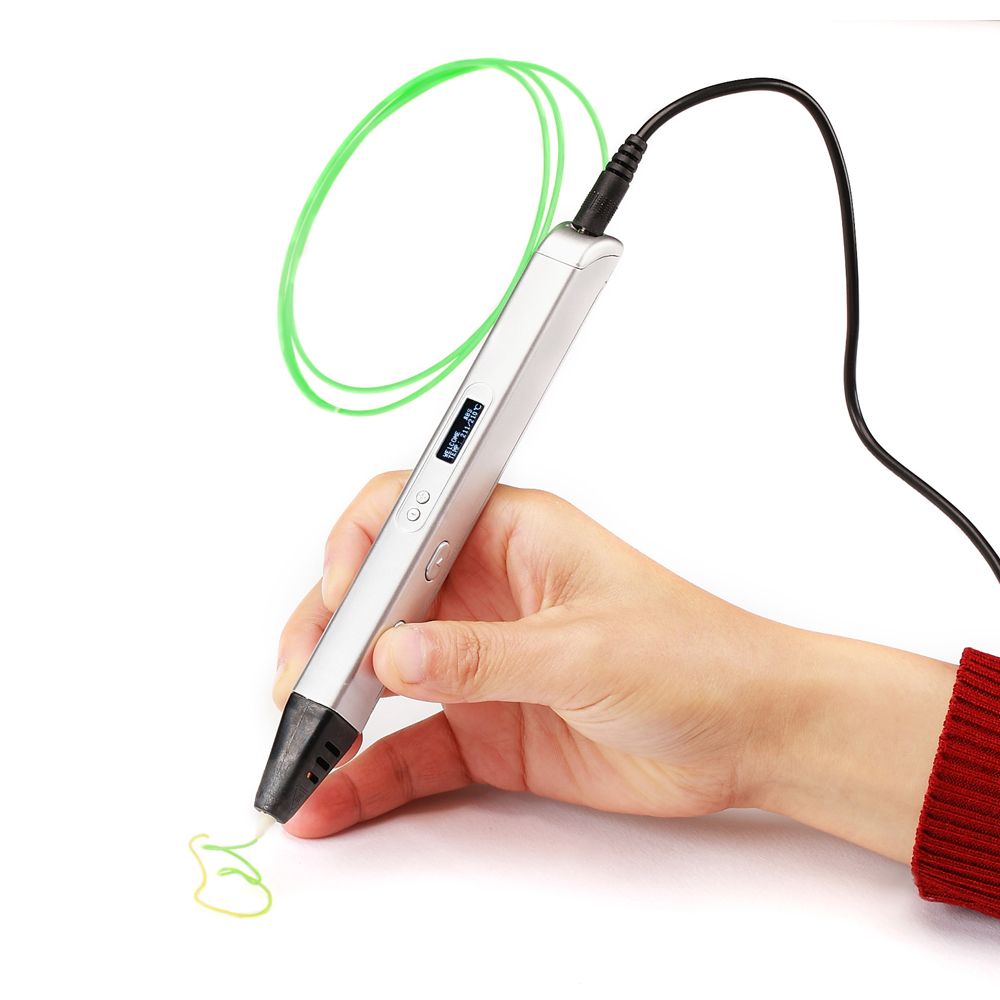 RP800A 3D Professionnel Impression 3D Stylo avec ÉCRAN OLED Génération 3D stylo de dessin pour Griffonner Artisanat D'art ou de L'éducation - 5
