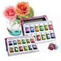 12 pçs/lote 3 ML Aromaterapia Óleos Essenciais para Aromaterapia Spa Banho de Massagem do Cuidado Da Pele de 12 Tipos de Fragrância