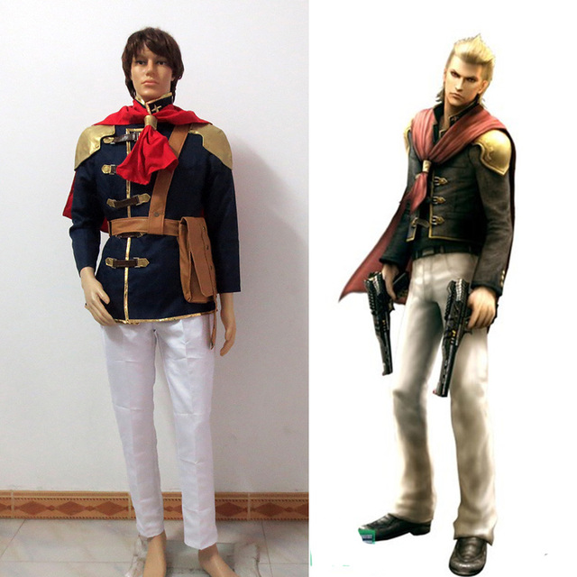 final fantasy type 0 suzaku peristylium class king cosplay halloween costumes custom made free shipping