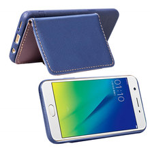 Casual Phone Back Cover Cases For OPPO F5 F7 A39 A57 A73 A75 A75S Fundas Fashion Wallet Photo Frame Card Slot Case DP05Z