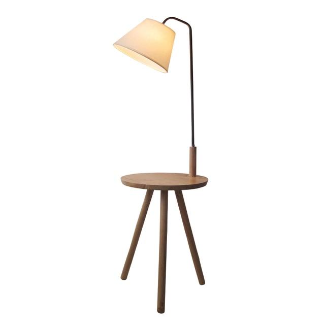 Modern Minimalist Floor Lamp table light Wood Tripod