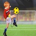 Надувные Футбол Дети Раннего Обучения Игрушки Открытый Крытый Спортивный Игрушки действий Дети Упражнение Обучение Игрушки