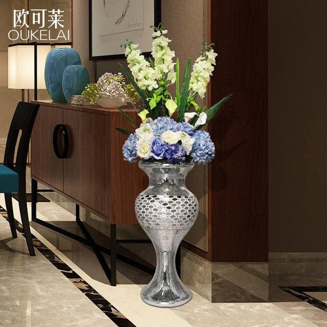 Europäische Große Vase Von Einrichtungs Decor Tv Schrank Boden