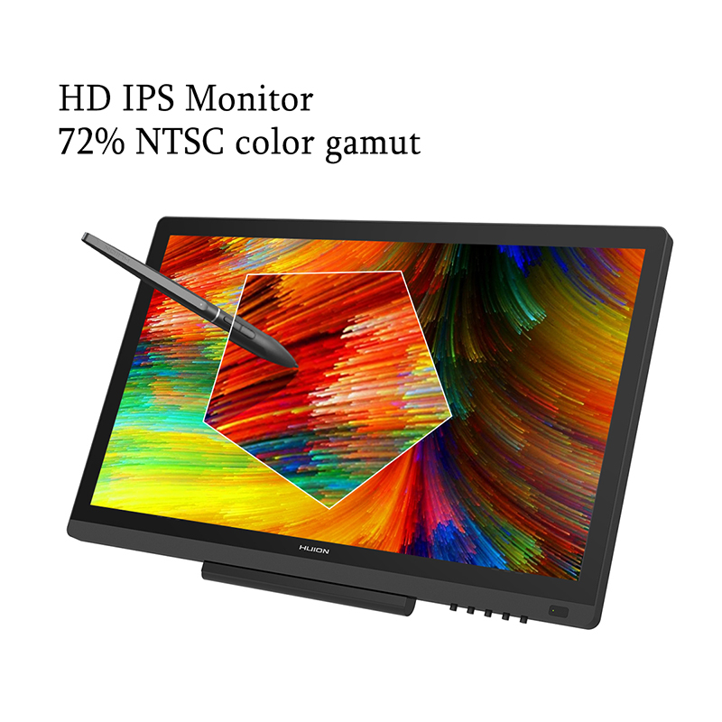 US $311 87 50% OFF|HUION KAMVAS GT 191 Pen Display Monitor 8192 Levels IPS  LCD Monitor Digital Graphic Drawing Monitor with Gifts-in LCD Monitors from