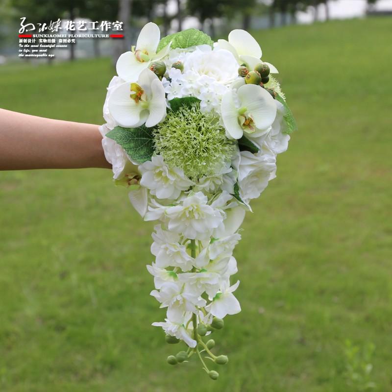wedding flowers bridal bouquets roze 3