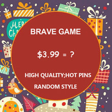 Surprise lucky bag ! 5-30pcs/bag Graduation Present Halloween Viking Animal Cartoon Brooches out-of-print Pins Read Detail Pages(China)