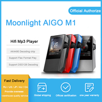 Moonlight AIGO M1 mp3 плеер AK4490EN DAC аудиодекодер flac плеер мин hi fi плеер для otg
