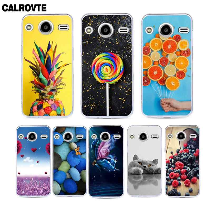 CALROVTE Animal Patterned Phone Case For Samsung Galaxy Core 2 Duos SM-G355H/DS SM-G355H Soft TPU Silicone Back Cover Cases