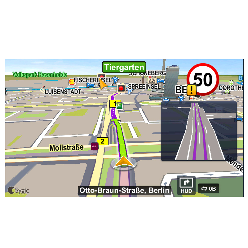 Gps Map For 2 Din Car Radio Android Sygic Gps Navigation Maps Free