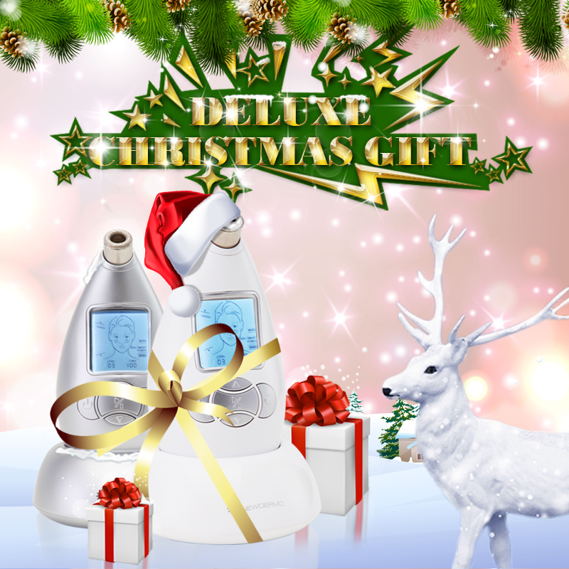 Christmas gift NEWDERMO removedor de cravo microdermabrasion machine цены онлайн