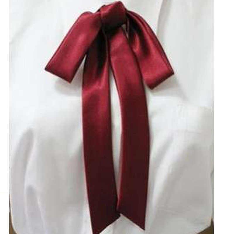 Jk制服アクセサリー品質サテン リボン カレッジ lengthen テザー ネクタイ蝶多色ネクタイ ネクタイ