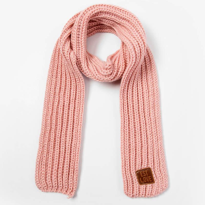 Boys Girls Winter Fashion Wool Knit Scarf Neck Warmer Knit Scarves