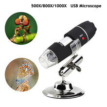 цены на Mega Pixels 1000X 8 LED Digital Microscope USB Endoscope Camera Microscopio Magnifier Electronic Stereo  в интернет-магазинах