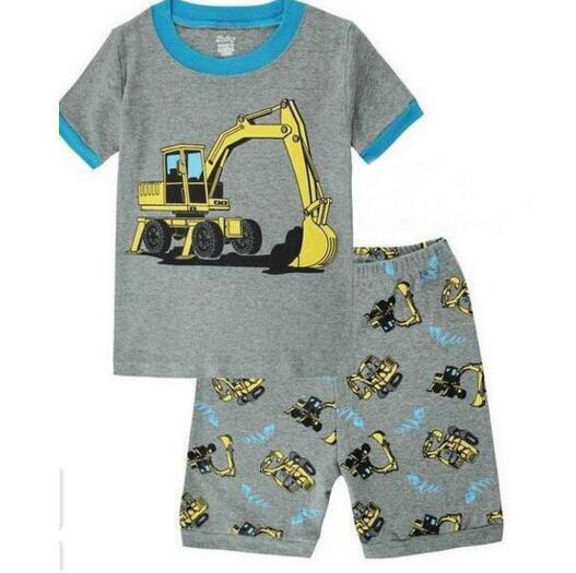 1b3c6e4ca7fb3 New summer Children Baby Boy's Girl's Kids Cartoon batman Shorts Sleeve  Pajamas Suit Sleepwear Homewear Pyjamas