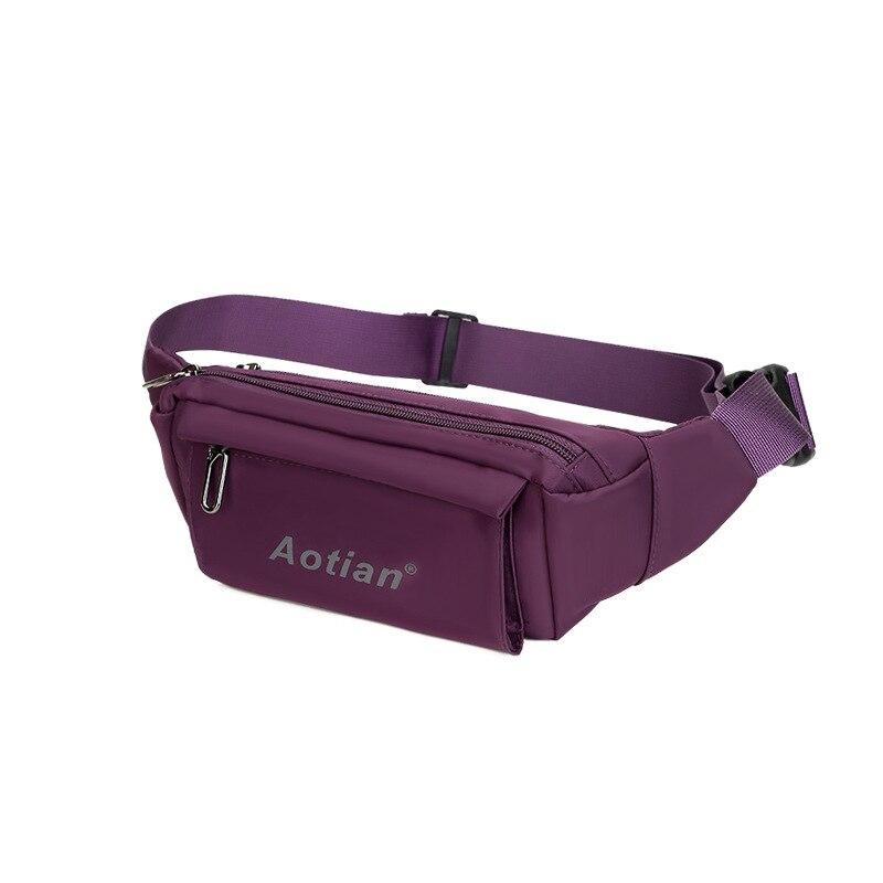 Aotian hot 2019 fashion new messenger bags women Casual waist bag high quality shoulder bag Top