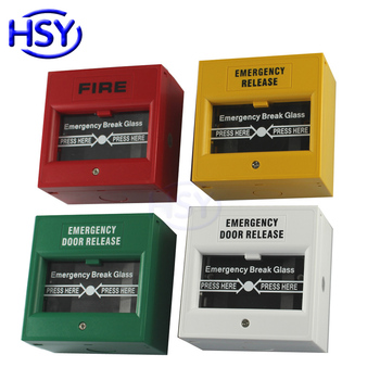 Emergency Door Release Glass Break Fire Alarm swtich Button Exit Release Switch image