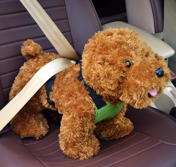multipurpose Dog harness in car cute dog harness dog car safety harness small dog S M L