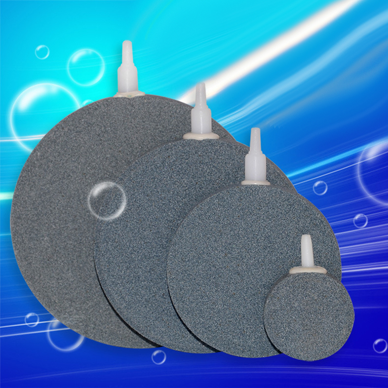 Aquarium Bubble Air Stone Beluchter Aquarium vijverpomp Hydrocultuur Disk Diffuser