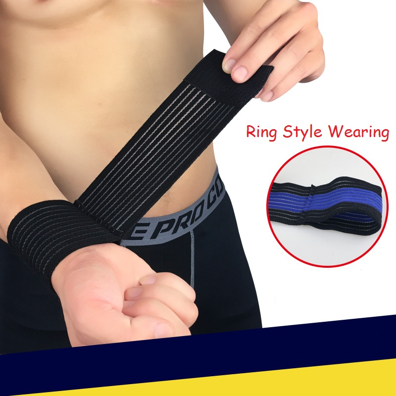 1 Pcs Wrist Band Men Women Elastic Bandage for Hand Wrist Strap Wrap Fitness Wristband Sport Gym Support Wrist Protector