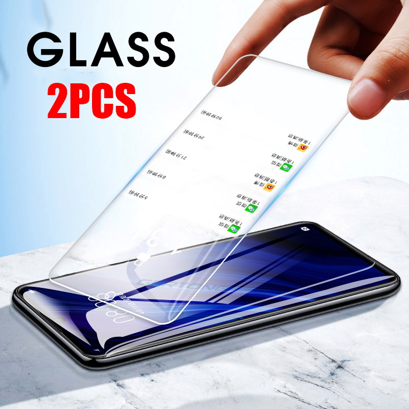 2PCS/Lot Tempered Glass For Huawei P30 Lite P20 Pro P Smart 2019 P10 Lite Plus Front Cover Transparent Tempered Glass Film