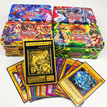 42pcs/set Yu Gi Oh Game Cards Classic YuGiOh Game English Cards Carton Collection cards with flash card and metal tin box toys