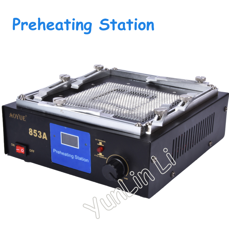 Tools : 110V 220V Infrared Digital Preheating Station Table Rework Station Soldering Station IR Preheating Heating Disk Area 130 130 mm