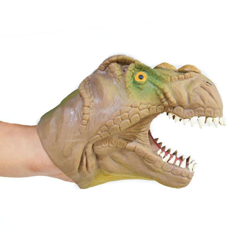 Dog Animal Hand Puppet Infant Children Hand Puppet Big Mouth Animal Toy T-Rex Gloves Figure Model Toys Kids Gift