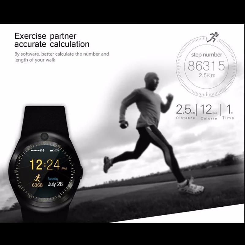 KESHUYOU Kamera Pametan sat Bluetooth 2G Muškarac smartwatch - Pametna elektronika - Foto 4