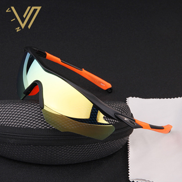PROSOOL Men' s Sunglasses for Biking Fishing Running Driving Golf Sunglass Men Lentes Gafas Oculos De Sol UV400 2017 New