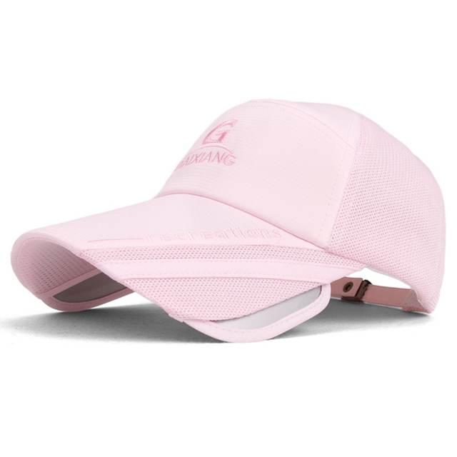 229522abee4 Sun hat Men mesh breathable hat women big brim hat baseball cap male  outdoor wide brim