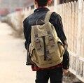 Стейси мешок 041416 унисекс женские мужчины винтаж холст рюкзак дорожная сумка