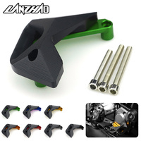 CNC Aluminum Motorcycle Engine Slider Right Side Cover Guard Black Green for Kawasaki Z1000 Z1000SX 2010 2017 Z900 Z900RS 2018
