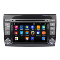 Android 7.12 Octa Core for Fiat Bravo 2007 2012 Car DVD Player Radio with GPS Bluetooth 4G 1024*600 2GB RAM 16GB ROM