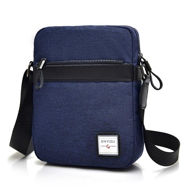 New Summer Polyester Men Bags Hot Sale Small Messenger Bag Man Fashion  Crossbody Shoulder Bag Men s 4402bc47290ad