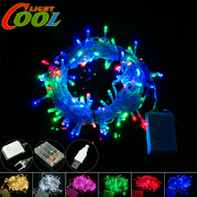 LED String 220V / 110V / USB / Battery Box Power Supply Holiday / Party Decorative LED Lighting Strings.