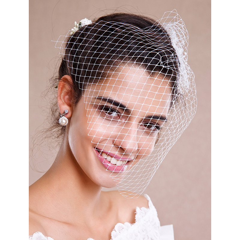 Top 20 Bridal Headpieces for Your Wedding Hairstyles ... |Very Short Hair For Wedding Headpieces