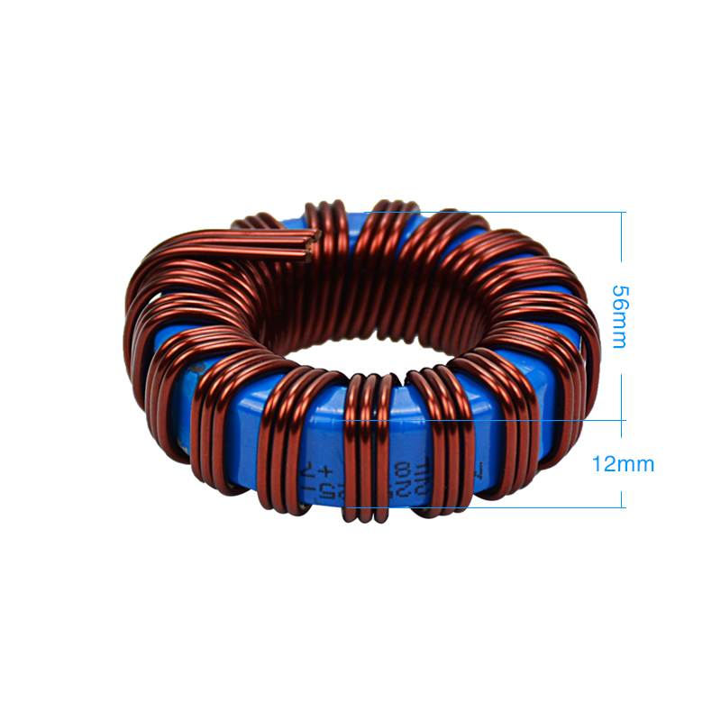 Image 2 - SUNYIMA 1pc inductance haute puissance 45uh 80A fer silicium aluminium inductance pour fréquence onduleur à onde sinusoïdale 1000 2000W-in Inductances from Bricolage on AliExpress