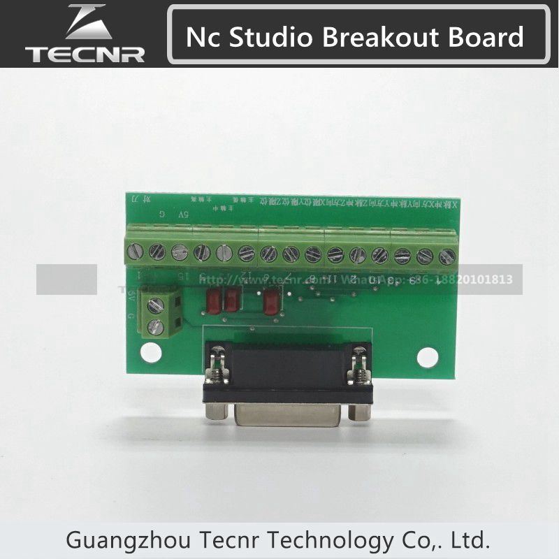 Ncstudio controller 3 axis nc studio system for cnc router 5449 3 axis pci motion nc studio breakout board in cnc wood router small card only cheapraybanclubmaster Gallery