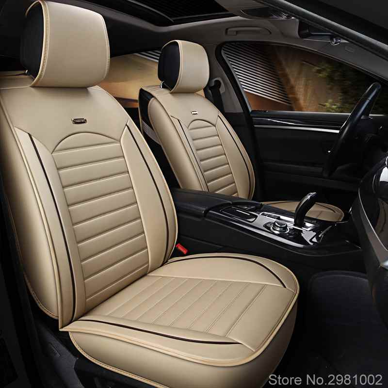 leather Universal Car Seat covers for Geely Emgrand EC7 X7 FE1 car styling automobiles Interior auto Cushionleather Universal Car Seat covers for Geely Emgrand EC7 X7 FE1 car styling automobiles Interior auto Cushion