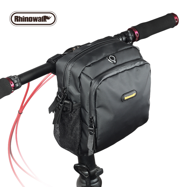 Rhinowalk Bicycle Front Bag Bike Handlebar Pack Waterproof Cycle Cycling Storag Frame