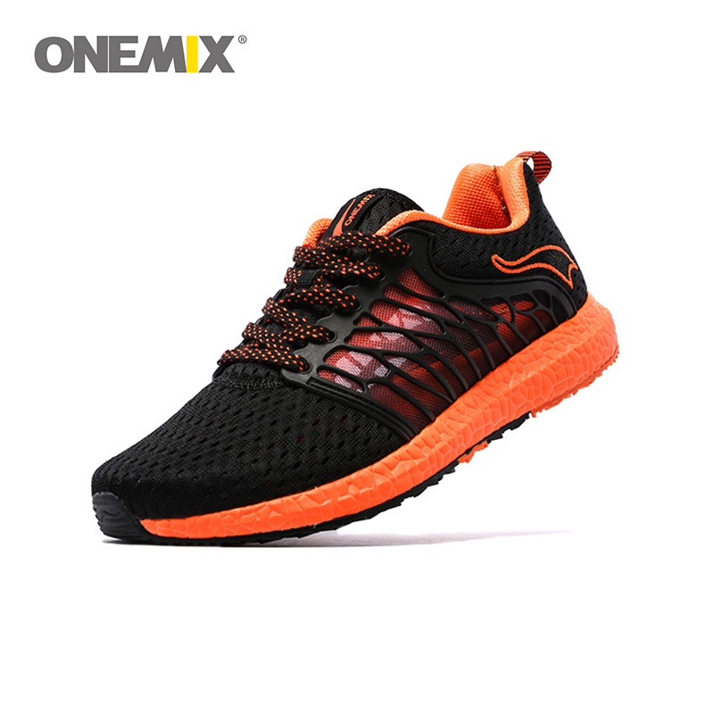 ONEMIX Summer Unisex Running Shoes Breathable Mesh Men Sport shoes lovers walking shoes Athletic Shoes Super Light Outdoor Women arborea chinese 20 inch wind gong hot sale