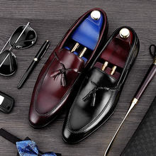 RUIMOSI Top Quality Round Toe Man Casual Shoes Genuine Leather Comfortable Male Loafers Luxury Designer Mens Boat Flats MG27